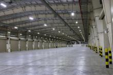 Warehouse lighting electrician in Nottingham and Derby